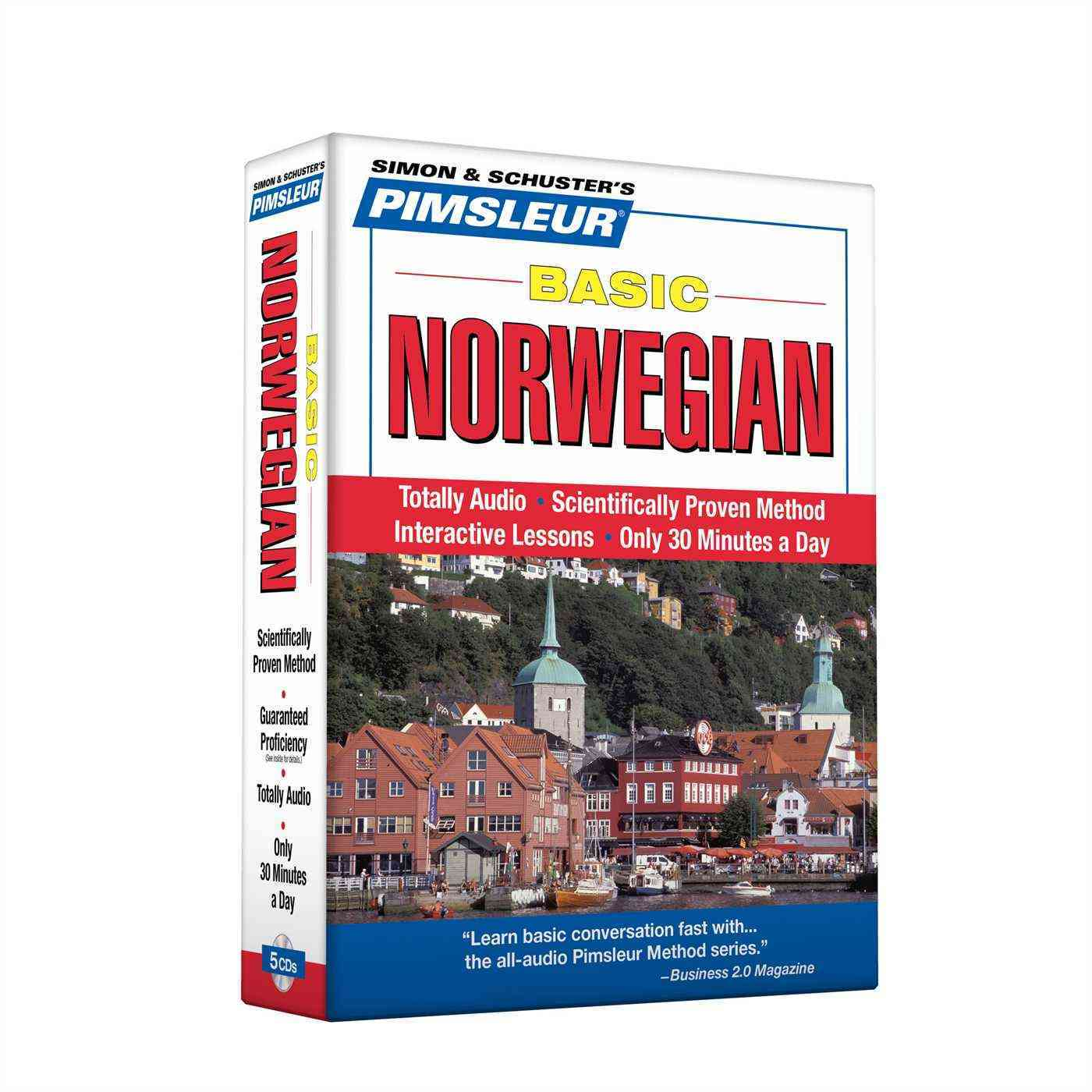 [CD] Pimsleur Basic Norwegian By Pimsleur (COR)